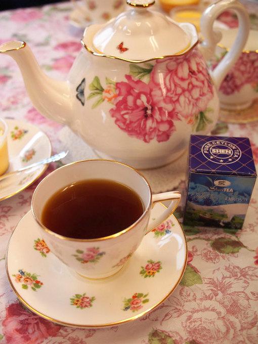 plecia bakedcheese tart tea1