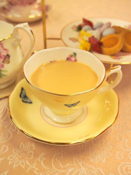 〆の紅茶はアッサム。フレーバーティーやハーブティーも好きだけど、やっぱり一番好きなのはシンプルな紅茶なんですよね。