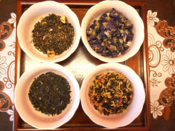 spring flower teaparty tea3