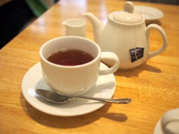 紅茶の種類はセイロンティーのみ