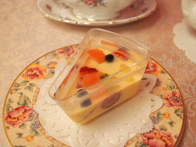 フルーツピークスの「フルーツプリン」