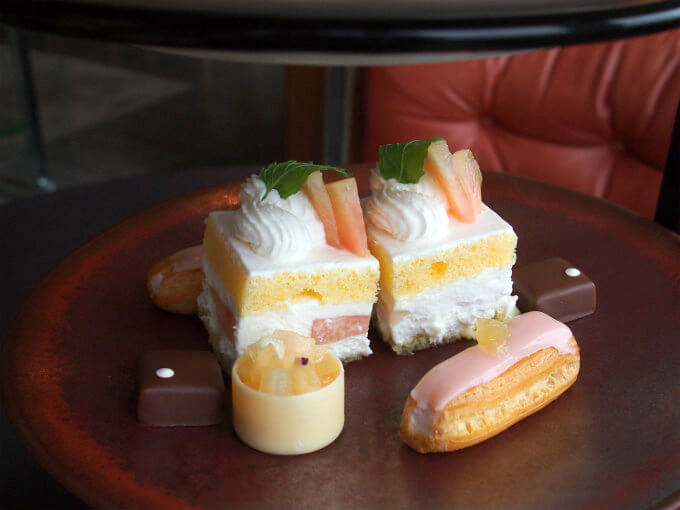 andaz peach afternoontea sweets20