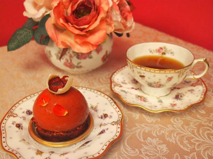 ラ・テールのフランボワジエと紅茶