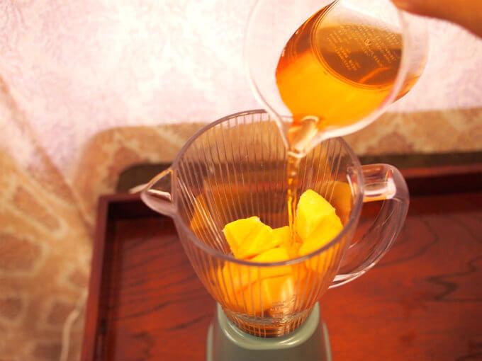 mango tea smoothie4