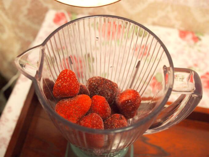 strawberry milk teasmoothie recipe2