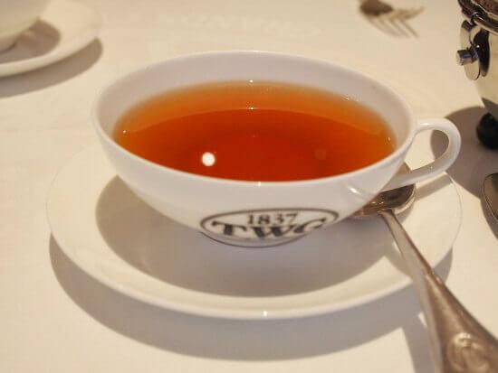こちらは「1837ブラックティー」。TWGの一番人気の紅茶でイチゴのフレーバーティーです。