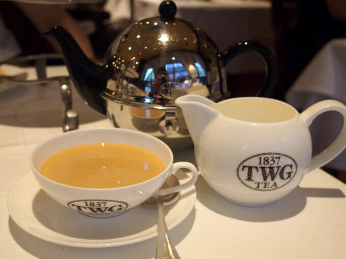 TWG Tea 自由が丘店のティーウェア