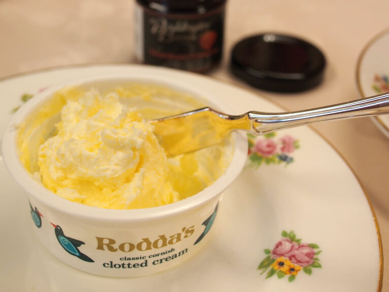 ロダス社のクロテッドクリーム