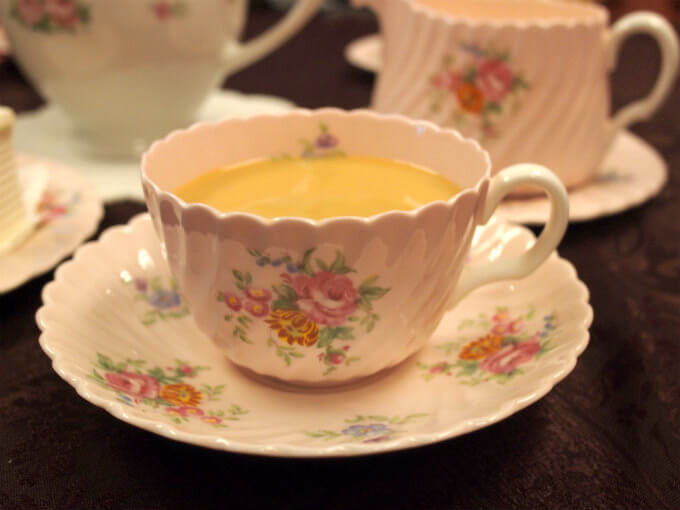 キャンディはミルクティーにしても美味しい紅茶です。