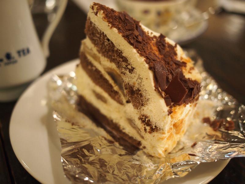 こちらはチョコ・バナナケーキ
