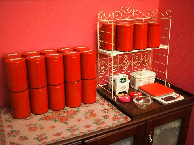 私の紅茶保管場所