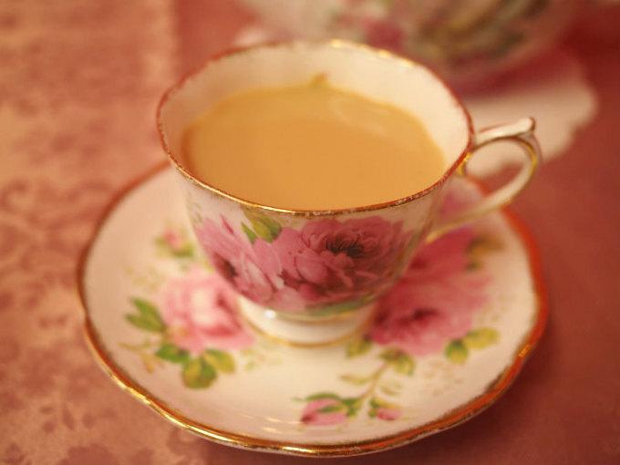 ニルギリはストレートでもミルクティーにしても美味しい紅茶。