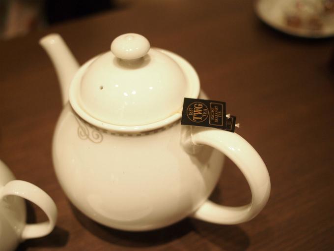 ゼルコヴァの紅茶はTWGの紅茶でした。