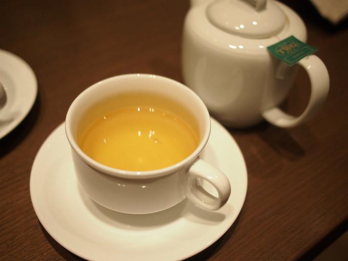 こちらは煎茶。煎茶もTWGでした。