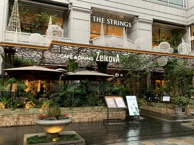 ゼルコヴァが入っているザ・ストリングス表参道は表参道駅直結の建物です。