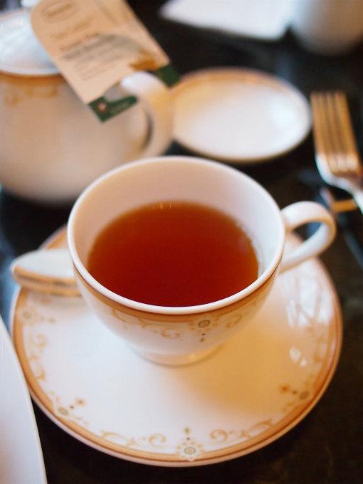 こちらは「アッサム」。ドリーマーズラウンジの紅茶はロンネフェルトのものです。