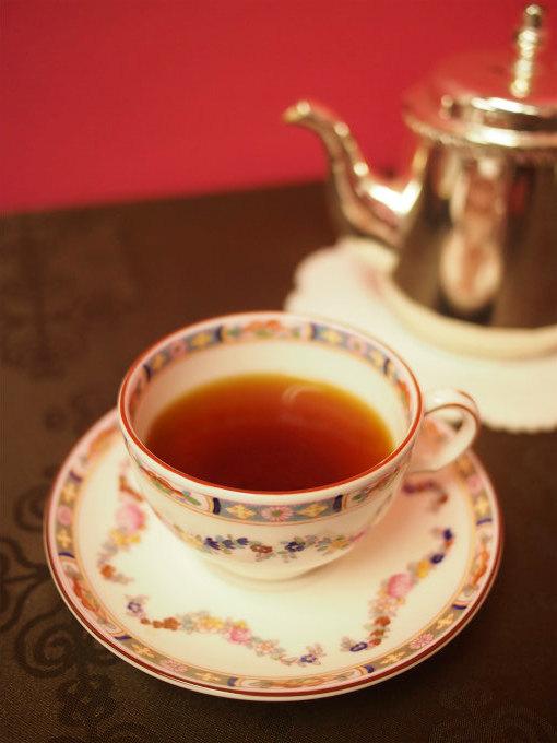合わせた紅茶はディンブラ