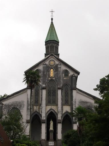大浦天主堂。教会ではなくて天主堂と名付けられているところも素敵。