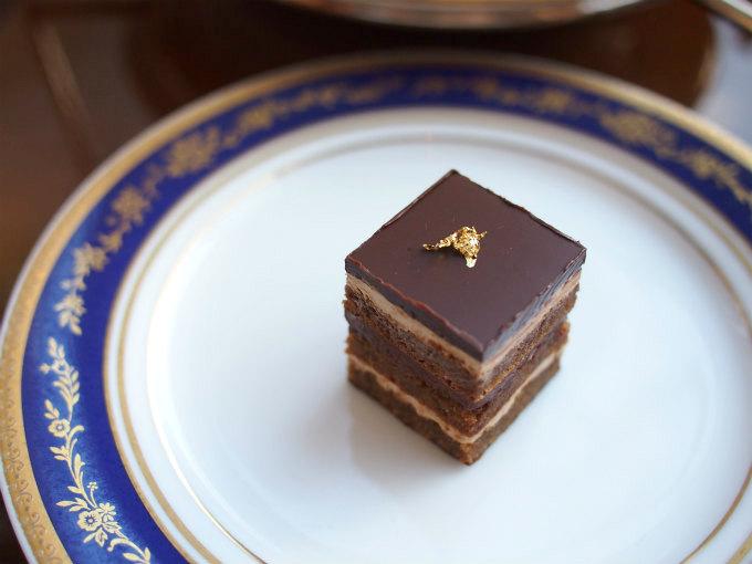 オペラもチョコレートとコーヒーのバランスが良くて美味しかったです。