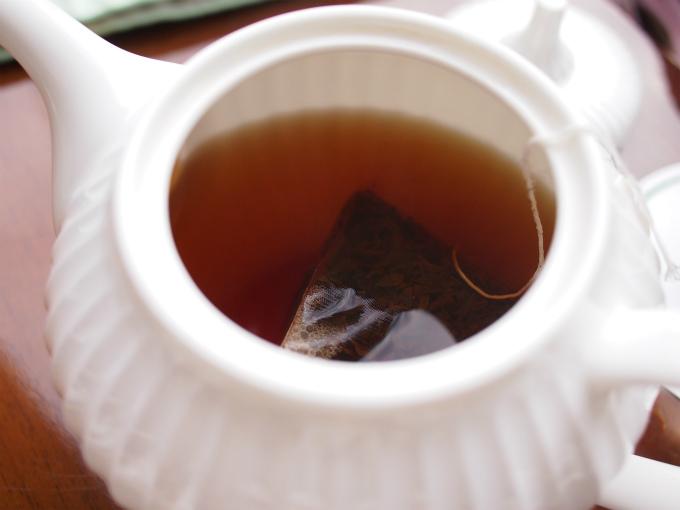 ティーバッグの紅茶だったけど、アッサムの茶葉はCTCではなくOPサイズのリーフでした。モルティ―フレーバーをちゃんと感じることができました。