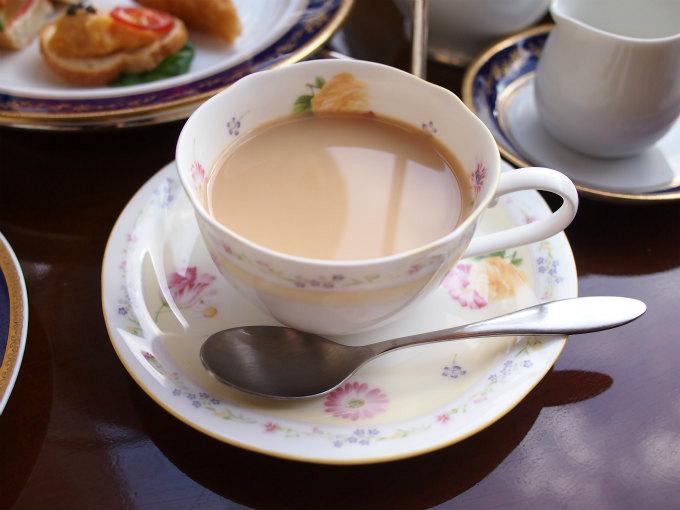 ミルクティーにしても美味しいアッサムでした。