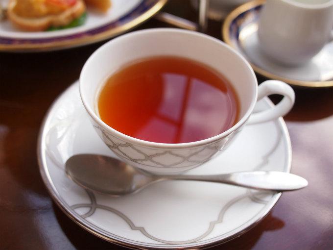 こちらはシチリアンレモン。紅茶にレモングラスとレモンピールが加わっていて、優しい味のフレーバーティーでした。