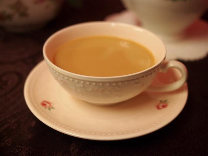 アッサムはミルクティーにぴったりな紅茶。