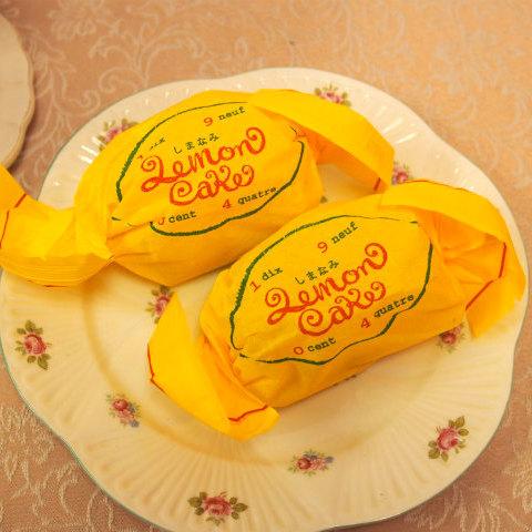 リアル写真のパティスリー1904「しまなみレモンケーキ」