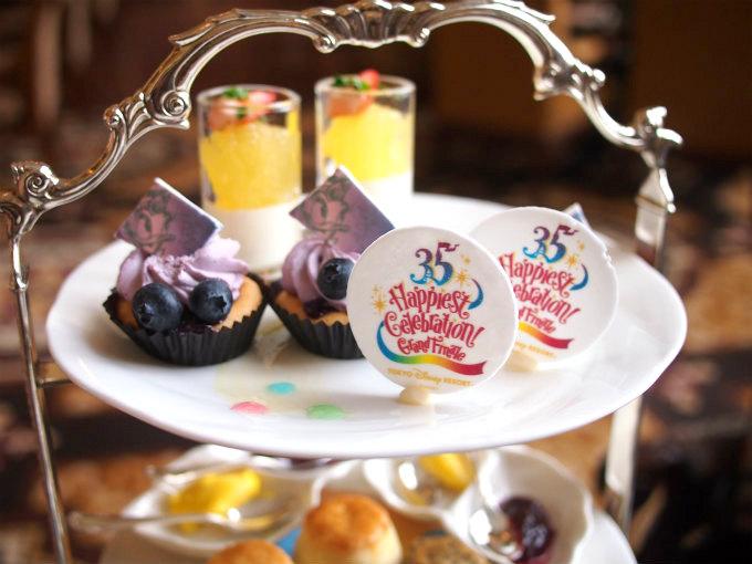 東京ディズニーランドホテル ディズニーリゾート35周年グランドフィナーレアフタヌーンティー