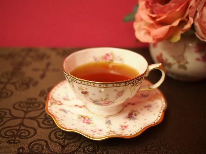 ティーカップに入ったウバ紅茶