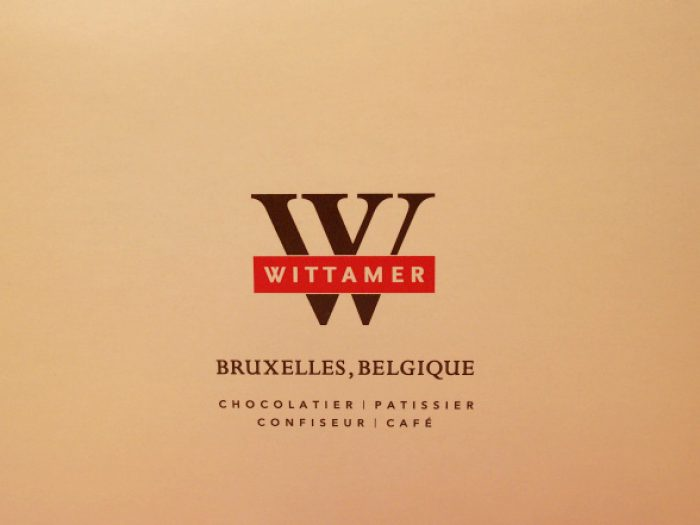 wittamer orange chocolat package