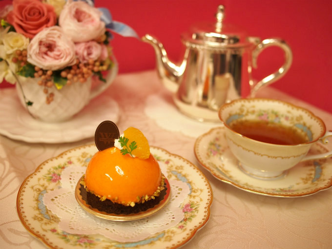 WITTAMER(ヴィタメール)のオランジュ ショコラと紅茶