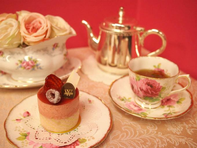 WITTAMER(ヴィタメール)のパルテールと紅茶