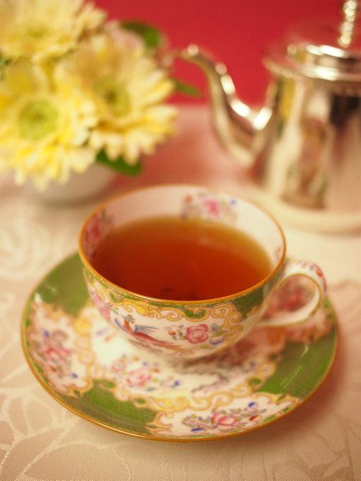 合わせた紅茶はニルギリ