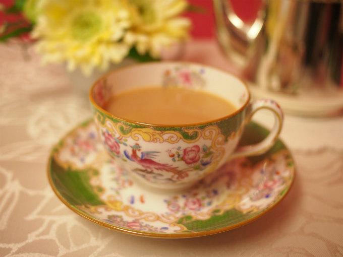 ニルギリはミルクティーにしても美味しい紅茶です。