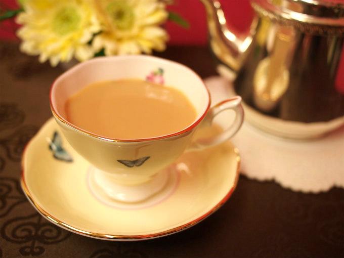 ウバはミルクティーに良く合う紅茶です。