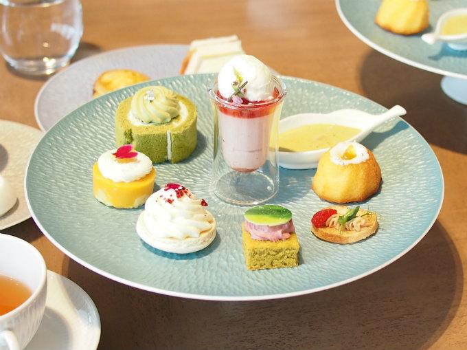 rossini terrace afternoontea sweets