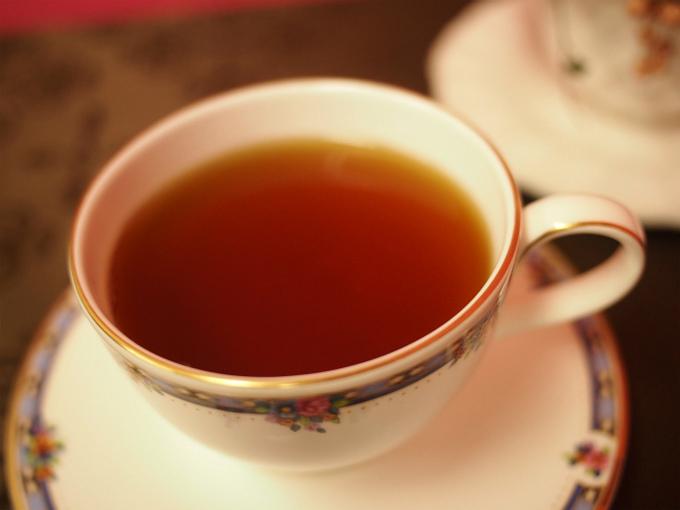 ルフナの紅茶の色