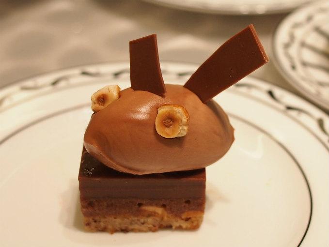 チョコレートヘーゼルナッツケーキ