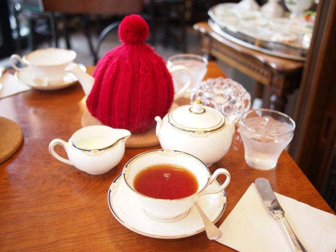 上板橋マンダレイの紅茶