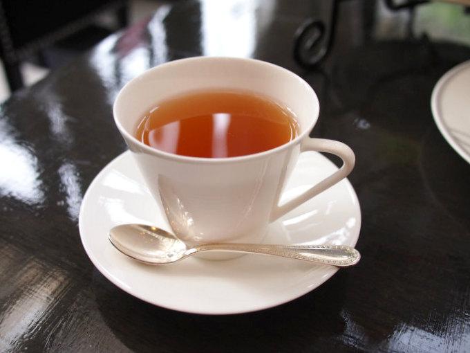 フレンチブレックファースト。バニラの香りの付いた紅茶。