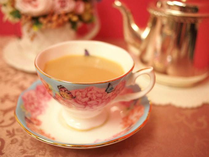 キームンはミルクティーにしても美味しい紅茶です。