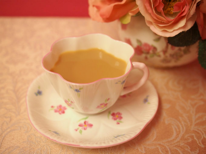 アッサムはミルクティーがよく合う紅茶です。