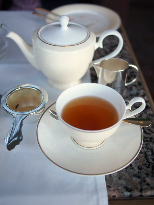 アッサム モカルバリオースト茶園。オーフィリア茶園のアッサムよりもさっぱりしてたので、こちらはストレートで頂きました。