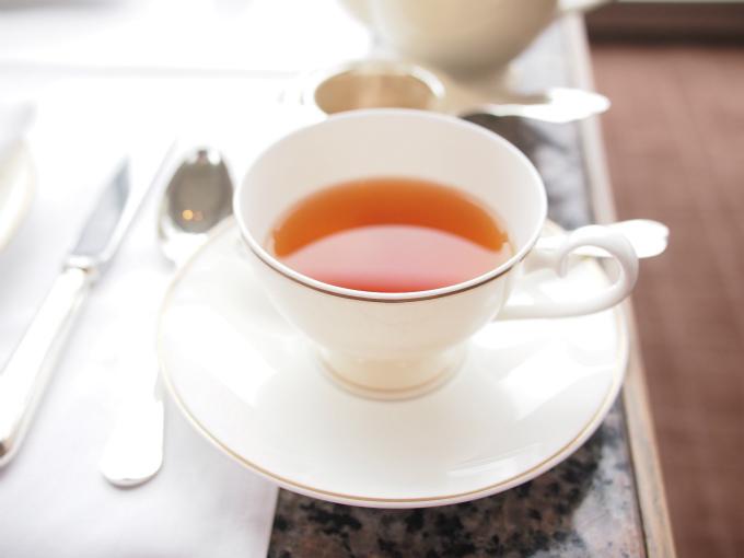 ダージリンセカンドフラッシュ ナムリングアッパー茶園。いい香りの紅茶でした。