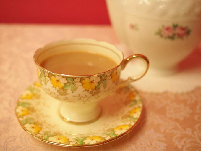 ニルギリはミルクティーにも合う紅茶です。