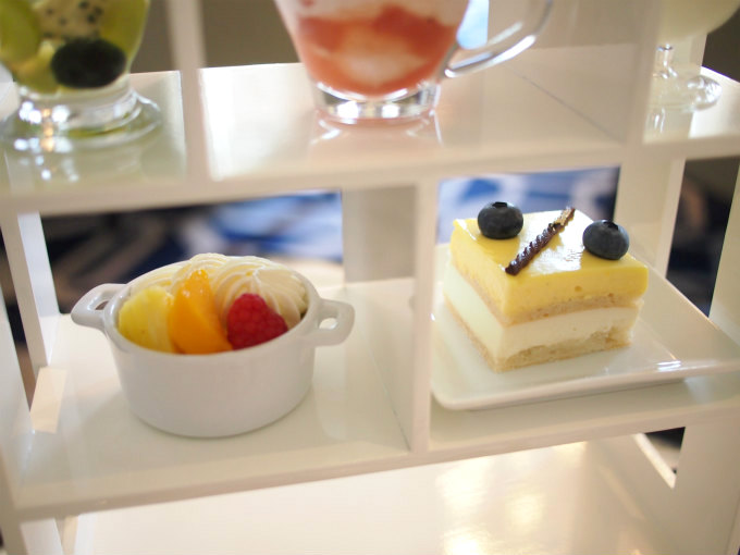 tokyostationhotel afternoontea sweets