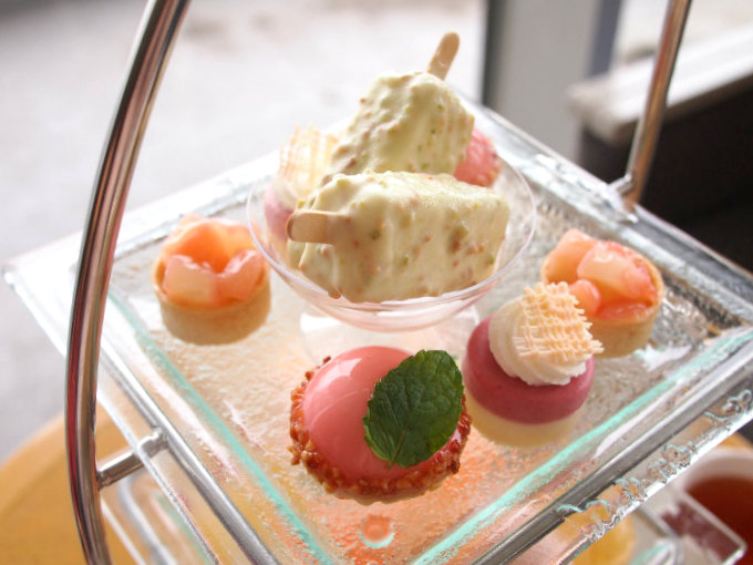 yokohama intercontinental afternoontea sweets