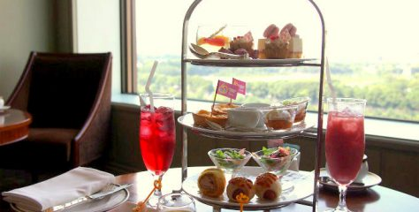 aqua barbie afternoontea