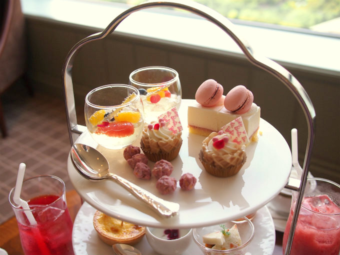 aqua barbie afternoontea sweets